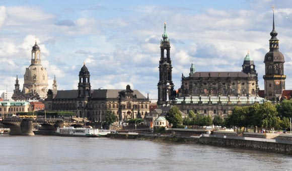 Dresden and the River Elbe