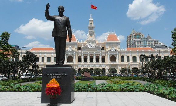 Ho Chi Minh Statue in the city centre