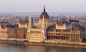 Budapest on the River Danube
