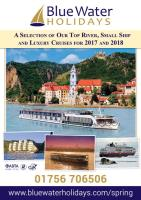 Cruising Holidays Spring 2017 Brochure