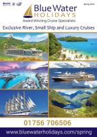 Cruising Holidays Spring 2018 Brochure