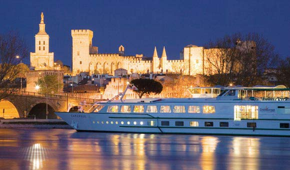 Take a River Rhone cruise and see historic Avignon