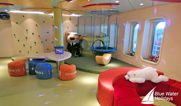 Children have their own club on MS Europa 2