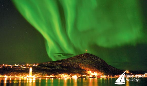 The magnificent Aurora Borealis or Northern Lights