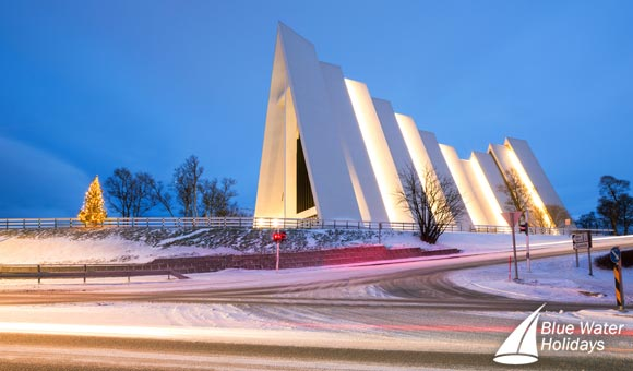 Visit the famous Arctic Cathedral at Tromso