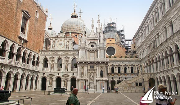 The spectacular Doge's Palace