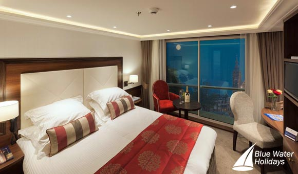 Relax in your modern cabin on board William Shakespeare