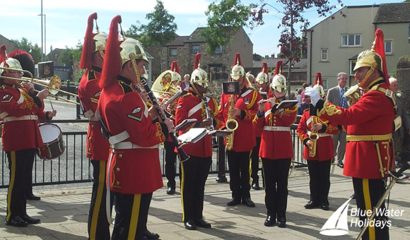 Heavy Cavalry and Cambrai Band based at Catterick Garrison