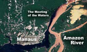 Meeting of the Waters: Amazon and Rio Negro