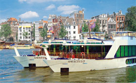 Apt river cruise ships cruising holidays for Adagio amsterdam
