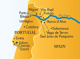 River Douro Map