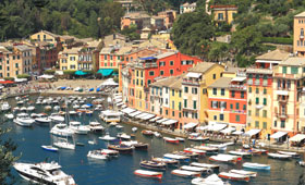 Portofino on the Italian coast