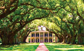 Oak Alley Plantation House