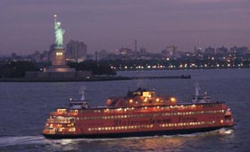 Statue of Liberty and the Staten Island ferry (Blue Water Holidays customer picture)