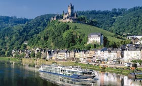 Cochem on the River Moselle
