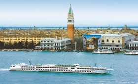 CroisiEurope ship Michelangelo in Venice