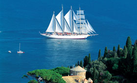 Star Clippers Western Med Sailing Cruises Cruising Holidays - Star clipper cruises