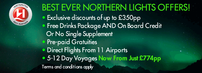Best Ever Northern Lights Offer!