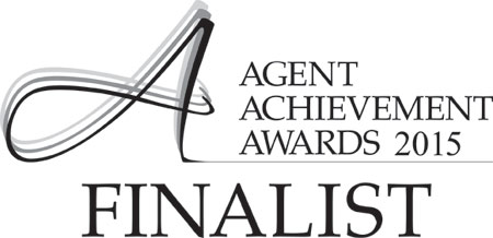 Finalist at the 2015 Agent Achievement Awards
