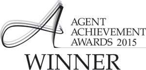 Winner at the 2015 Agent Achievement Awards