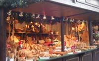 Market stall at Cologne's Christmas market