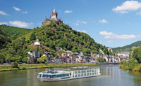 Scenic Crystal on the Rhine