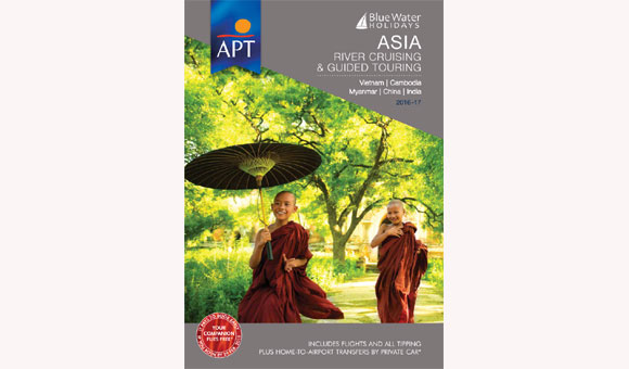 Front cover of our brand new Asia brochure