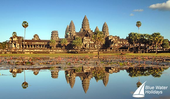 Visit UNESCO-listed Angkor Wat