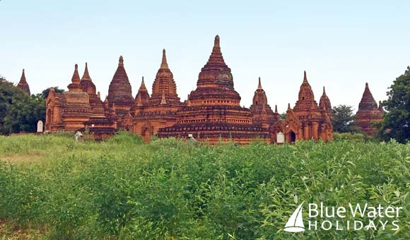 Awe-inspiring temples at Bagan