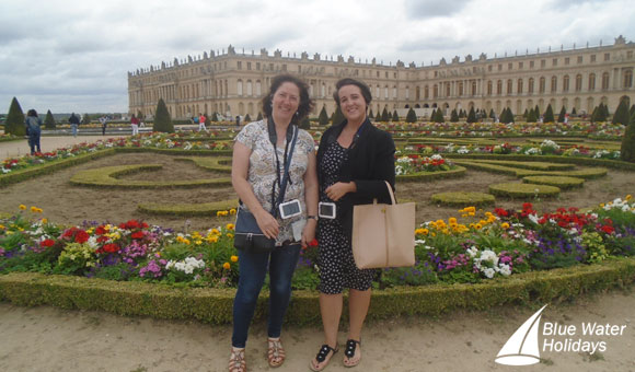 Heather and Jade at the Palace of Versailles