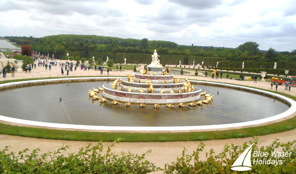 Fountain in the Gardens of Versailles