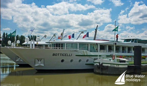 Botticelli moored in Duclair