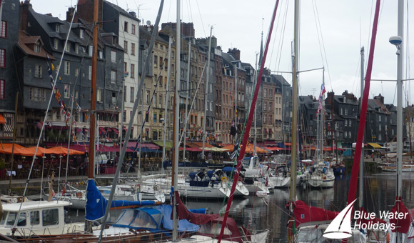 Honfleur's charming harbour
