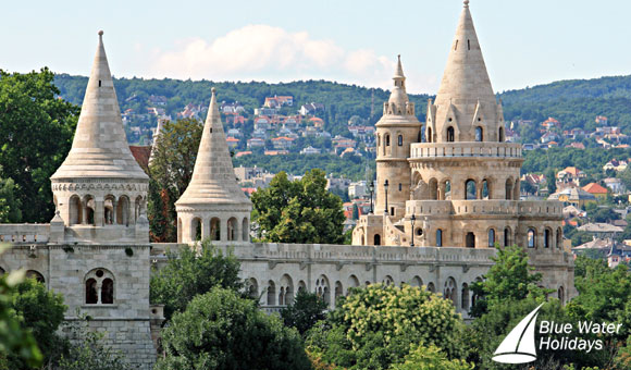 Enjoy stunning views from Fisherman's Bastion, Budapest