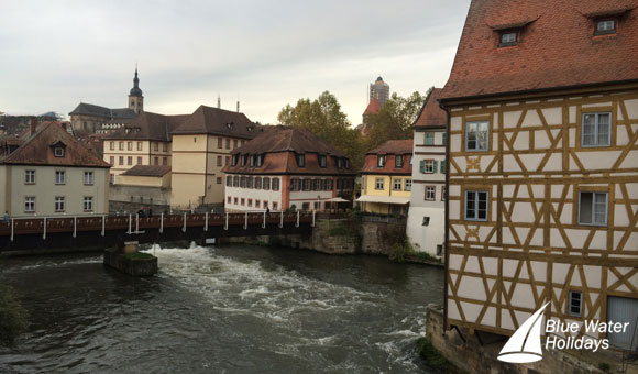 Admire Bamberg's traditional houses