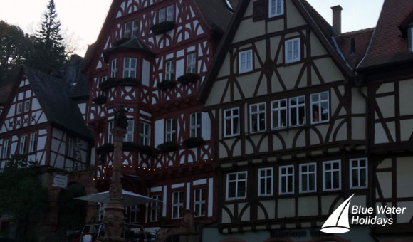 Half-timbered houses in Miltenberg