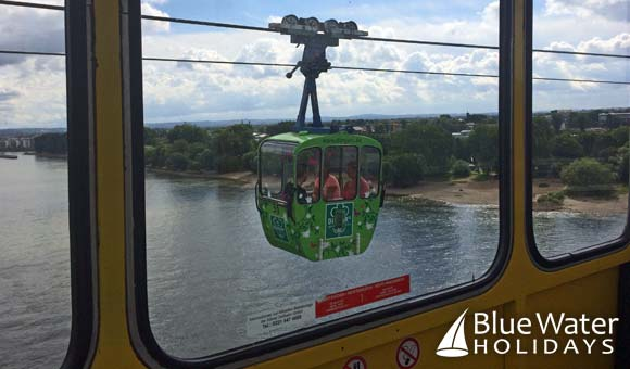 Cable Car in Cologne