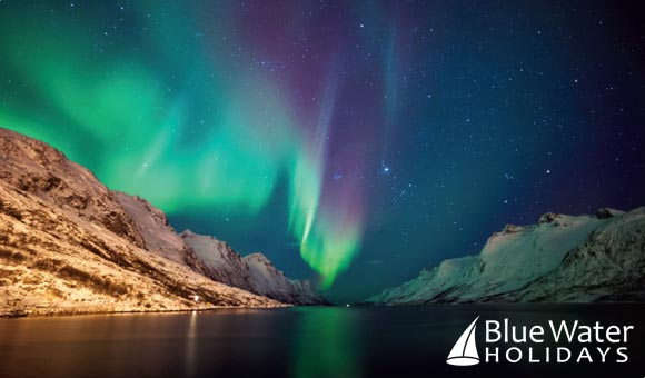Venture in search of the Northern Lights on a Norwegian cruise holiday