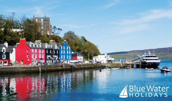 Cruise along the Caledonian Canal, through Loch Ness to the stunning Hebrides