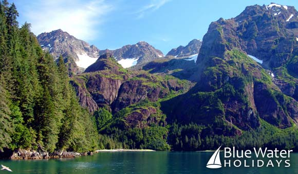 Discover the stunning vistas of Alaska on stylish Viking Spirit