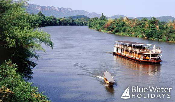 Experience Thailand in a new way on the River Kwai