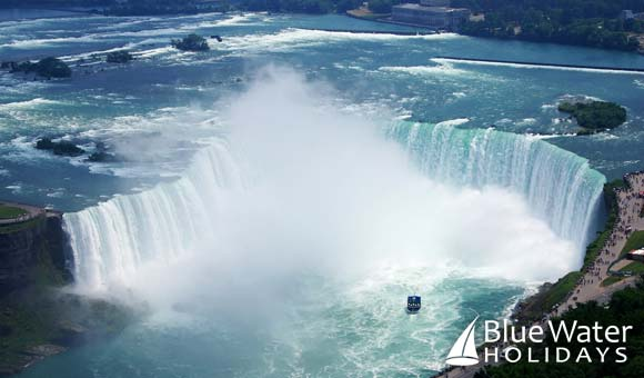 Visit all five of the Great Lakes and Niagara Falls
