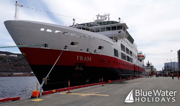 Expedition ship Fram