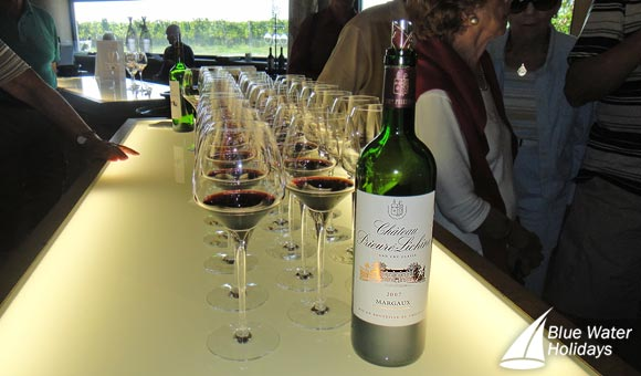 Enjoy wine tasting at Chateau Prieure Lichine, Margaux