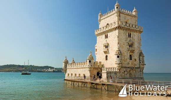 Visit the Belem Tower in Lisbon, the capital of Portugal