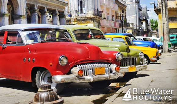 Columbus visits the colourful city of Havana in Cuba