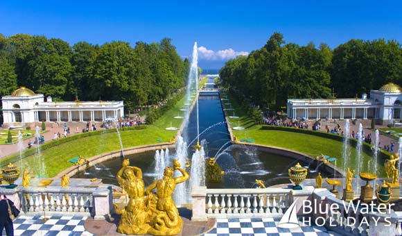 Visit St Petersburg on a Baltic itinerary