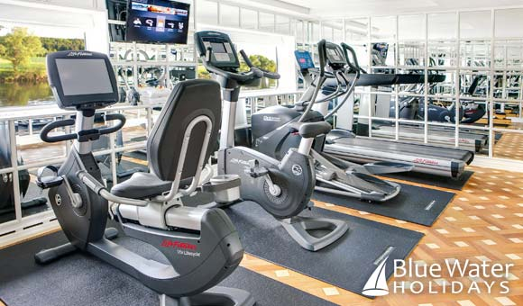 Keep in shape in the fitness centre