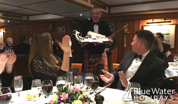 Address to the Haggis at the Gala Dinner