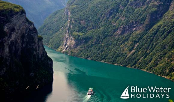 Cruise the breathtaking Geirangerfjord